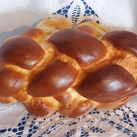 Butter-Hefezopf